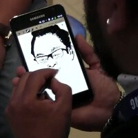 Here's how you can draw a portrait with the S Pen on the Samsung Galaxy Note in a couple of minutes