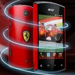 Acer Liquid Mini is also graced with a Ferrari Edition