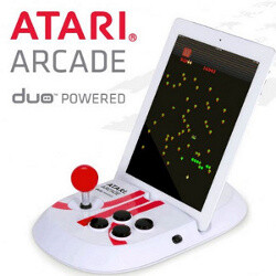 Atari Arcade Duo Powered is an iPad controller from Atari, doubles as a time machine