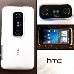 Win one of nine white HTC EVO 3D units today from Radio Shack