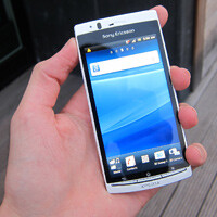 Sony Ericsson Xperia arc S Hands-on