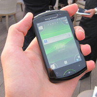 Sony Ericsson Live with Walkman Hands-on