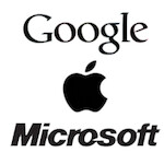 World's top three brands are now: Google, Apple, Microsoft