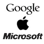 World's top three brands are now: Google, Apple, Microsoft