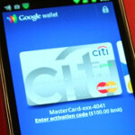 Google Wallet demoed by Master Card