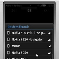 Nokia 900 Windows Phone appears on a remote connection