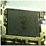 Alleged next iPhone component shot reveals Apple A5 chip