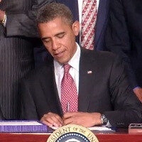 Obama inks patent reform bill