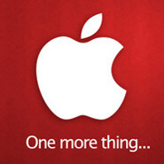 One more thing: Apple's next event is scheduled for October 4th