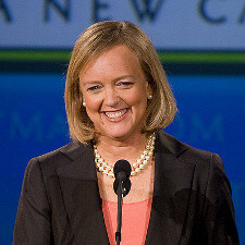 Meg Whitman succeeds Leo Apotheker as CEO of HP
