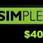 SIMPLE Mobile adds new monthly unlimited plan for $40