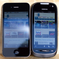 Thousand points of light: the brightest mobile display to date on the Nokia 701 compared