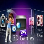 LG Optimus 3D update still keeps the handset at Froyo, but packs 3D game converter