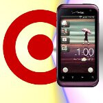 Target will shave $50 off the HTC Rhyme with the trade-in for any working phone