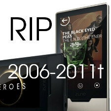 Microsoft kills the Zune, to focus on Windows Phone
