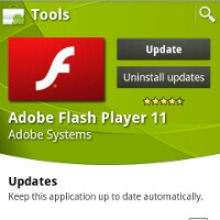 Adobe Flash Player 11 and AIR 3 now in Android Market, Stage 3D nitro booster to come at a later time