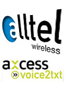 Alltel Wireless launches Voice2TXT