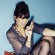 Who says gadgets aren't sexy? Daisy Lowe proves the opposite for the Sony Ericsson Xperia Ray