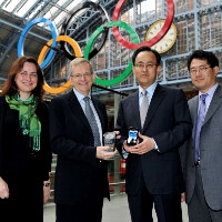 Samsung and VISA team up on a dedicated London Olympics 2012 phone with NFC