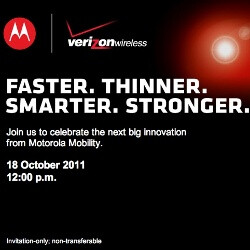 """Motorola teasing us with """"Faster. Thinner. Smarter. Stronger,"""" could be the new Droid RAZR"""