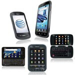 AT&T introduces the Motorola ATRIX 2, the Samsung Captivate Glide and 3 other Android phones