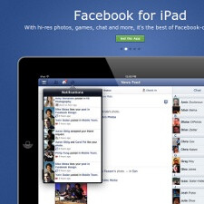 Facebook iPad app is finally official
