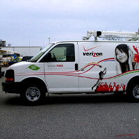 Verizon's test cars upgraded to benchmark real-life 4G performance against the competition
