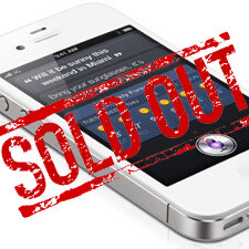 Apple iPhone 4S pre-orders sold out at carriers, delivery times reaching 4 weeks