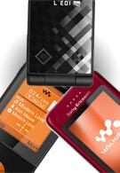 Sony Ericsson announced three new mobile phones