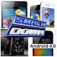 Samsung Galaxy NEXUS vs S II vs Motorola DROID RAZR vs iPhone 4S: spec comparison