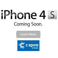 iPhone 4S coming soon to... C-Spire Wireless