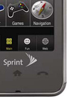 Samsung M800 for Sprint is a touch-screen phone!