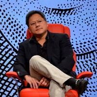 """NVIDIA CEO discusses the future, says we are """"moments away"""" from dynamic, interactive app logos"""