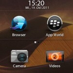 Video shows off a beta of BlackBerry PlayBook OS 2.0, given to developers on Tuesday