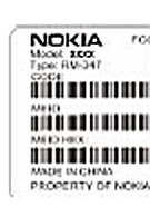 FCC approved a CDMA Nokia phone