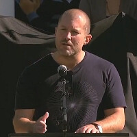 Apple chief designer Jonathan Ive talks about his love-hate relationship with Steve Jobs (memorial service video)