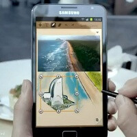 First Samsung GALAXY Note commercial surfaces: makes you rethink the stylus