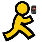 AIM client for BlackBerry made by RIM being replaced by one built by AOL
