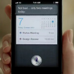 New T.V. spots for the Apple iPhone 4S highlight Siri, the new camera and the iCloud