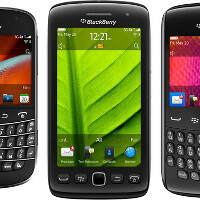 New BlackBerries arriving soon on AT&T: Bold 9900, Torch 9860 come on Nov 6th, Curve 9360 – Nov 20th