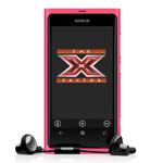 Nokia Lumia 800 invades The X Factor