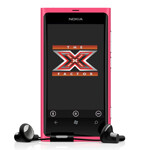 Nokia Lumia 800 invades The X Factor