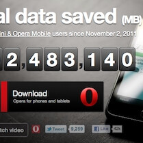 Opera Mobile and Opera Mini updated with data counters to clamp down on those overages