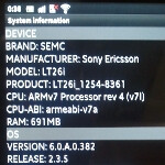 Pictures of the Sony Ericsson Nozomi leak along with a picture from the Sony Ericsson Nozomi