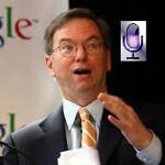 "Eric Schmidt tells senators that Siri could be a ""threat"" to Google"
