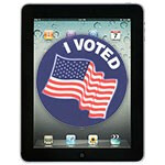 iPads being tested as a voting machine