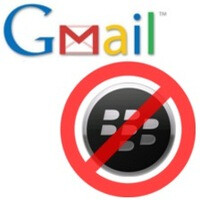 Google to discontinue Gmail app for BlackBerry this month