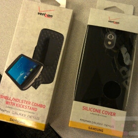 Samsung Galaxy Nexus cases start making their way into Verizon stores