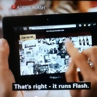 RIM to continue developing the Flash player for its BlackBerry PlayBook on its own