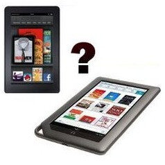 The Barnes & Noble Nook Tablet or the Amazon Kindle Fire – which one would you pick? (poll results)